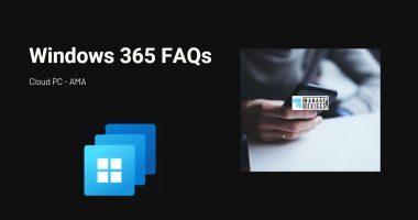 W365-FAQ