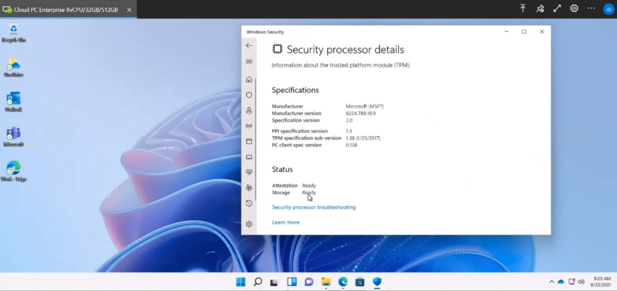 Windows 11 with Cloud PC